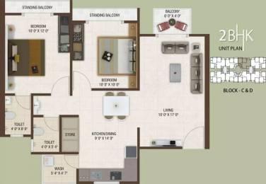 1170 sqft, 2 bhk Apartment in Rajhans Platinum Residency Palanpur, Surat at Rs. 36.0000 Lacs