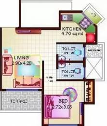650 sqft, 1 bhk Apartment in Proviso Hill Park Kharghar, Mumbai at Rs. 52.0000 Lacs