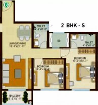 1319 sqft, 2 bhk Apartment in Indiabulls Park Panvel, Mumbai at Rs. 80.0000 Lacs