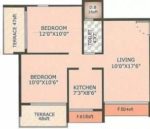 1182 sqft, 2 bhk Apartment in Suncity Avenue Kharghar, Mumbai at Rs. 95.0000 Lacs