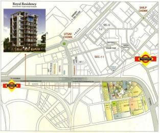675 sqft, 1 bhk Apartment in Platinum Royal Residency Kharghar, Mumbai at Rs. 52.0000 Lacs