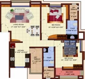 1115 sqft, 2 bhk Apartment in Mehta Ixora Baner, Pune at Rs. 72.0000 Lacs