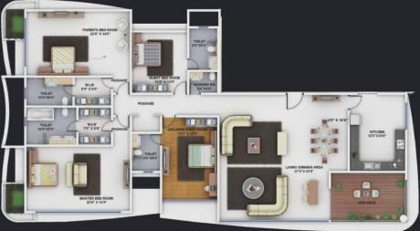 4250 sqft, 4 bhk Apartment in Supreme Esteban Koregaon Park, Pune at Rs. 5.7000 Cr