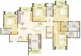2,496 sq ft 4 BHK + 4T Apartment in Godrej Properties Anandam