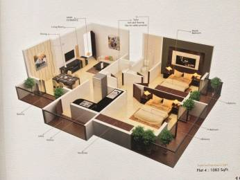 1083 sqft, 2 bhk Apartment in Builder Skytown Luxuria Navanagar, Hubli Dharwad at Rs. 30.0000 Lacs