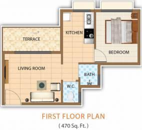 470 sqft, 1 bhk Apartment in Shree Vasturachana Vrundavan Bhiwandi, Mumbai at Rs. 15.9800 Lacs