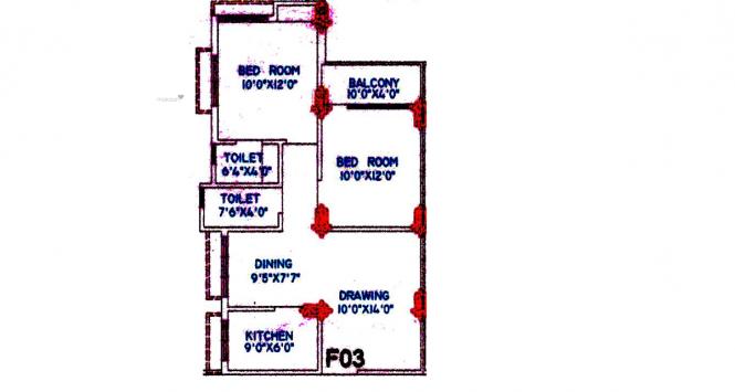 990 sqft, 2 bhk Apartment in Sapnil Sapnil Residency Ushagram, Asansol at Rs. 23.0000 Lacs