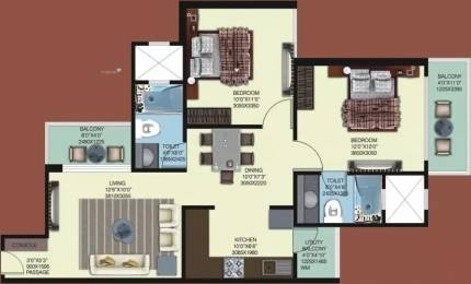 935 sqft, 2 bhk Apartment in Mahagun My Woods Sector 16C Noida Extension, Greater Noida at Rs. 35.0000 Lacs