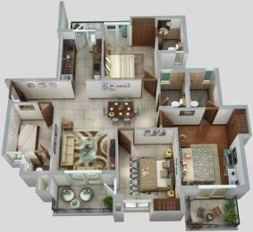 1625 sqft, 3 bhk Apartment in ATS Homekraft Happy Trails Sector 10 Noida Extension, Greater Noida at Rs. 70.0625 Lacs