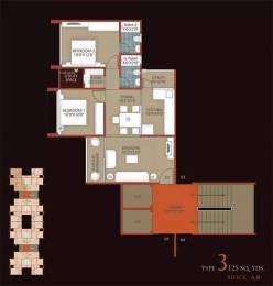 1125 sqft, 2 bhk Apartment in Dharmadev Swaminarayan Park 2 Vasna, Ahmedabad at Rs. 33.0000 Lacs