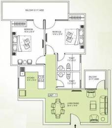 1175 sqft, 2 bhk Apartment in V Square Springdale Sector 3 Dharuhera, Dharuhera at Rs. 35.0000 Lacs