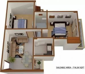 718 sqft, 2 bhk Apartment in Shree Sai Baba Sai Gaon Kaazi Sarai, Varanasi at Rs. 30.0000 Lacs