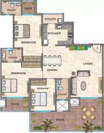 2100 sqft, 3 bhk Apartment in Hubtown Sunstone Bandra East, Mumbai at Rs. 1.2500 Lacs