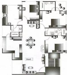 1500 sqft, 3 bhk Apartment in Sangath Silver ABCD Motera, Ahmedabad at Rs. 30000
