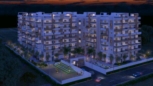 1040 sqft, 2 bhk Apartment in Tricolour Palm Cove Uppal Kalan, Hyderabad at Rs. 50.0000 Lacs
