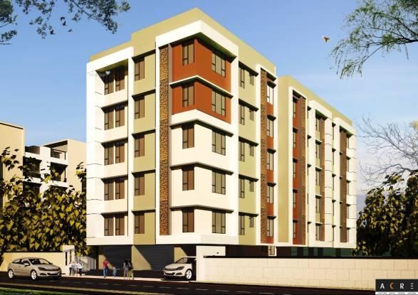 660 sqft, 2 bhk Apartment in Builder Domjur Pride Domjur, Kolkata at Rs. 18.4800 Lacs