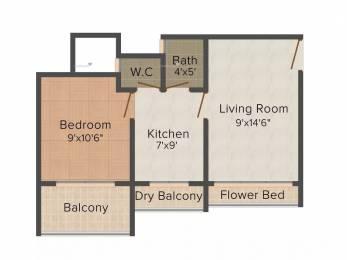 590 sqft, 1 bhk Apartment in Crystal Orange Heights Nala Sopara, Mumbai at Rs. 26.0000 Lacs