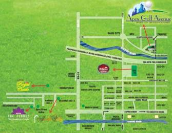 1137 sqft, 2 bhk Apartment in Apex Apex Golf Avenue Greater Noida West, Greater Noida at Rs. 35.6000 Lacs