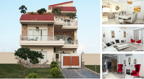 1350 sqft, 3 bhk Villa in Gaursons Gaur Yamuna City Sector 19 Yamuna Expressway, Noida at Rs. 45.3000 Lacs