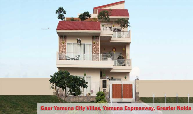 2338 sqft, 4 bhk Villa in Gaursons Gaur Yamuna City Sector 19 Yamuna Expressway, Noida at Rs. 74.8837 Lacs