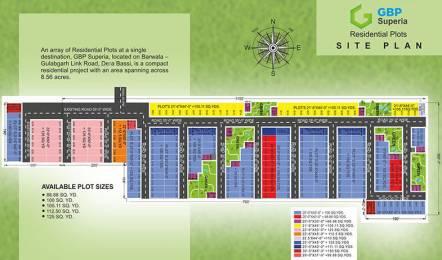 1125 sqft, Plot in GBP Superia Gulabgarh, Dera Bassi at Rs. 17.5000 Lacs