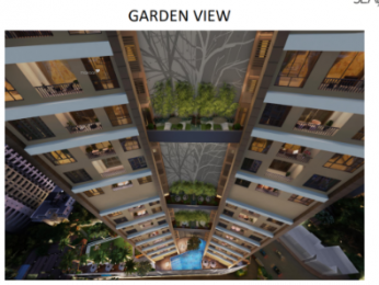 622 sqft, 1 bhk Apartment in Siddha Seabrook Apartment Kandivali West, Mumbai at Rs. 1.0000 Cr