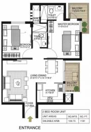 1181 sqft, 2 bhk Apartment in Alpha Gurgaon One 84 Sector 84, Gurgaon at Rs. 14000