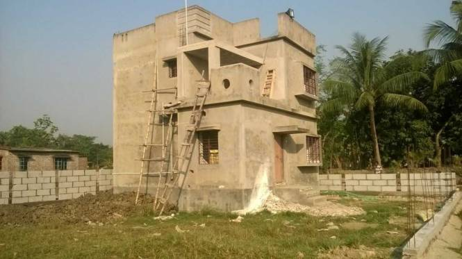 940 sqft, 3 bhk Villa in Vriddhi Fresco Fountain City Joka, Kolkata at Rs. 21.1050 Lacs