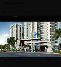 2925 sqft, 4 bhk Apartment in SMR Vinay Iconia Serilingampally, Hyderabad at Rs. 1.7600 Cr