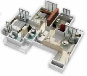 1150 sqft, 2 bhk Apartment in Sunny Orchid Residency Koperkhairane, Mumbai at Rs. 37000