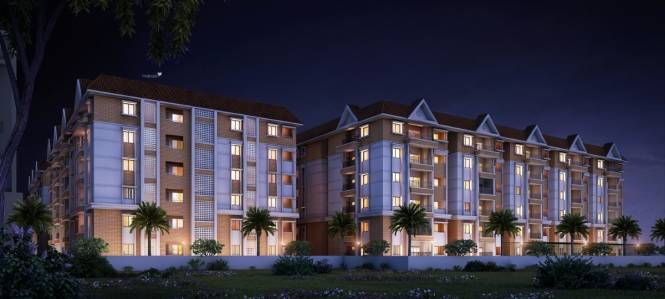1768 sqft, 3 bhk Apartment in Builder Project Manikonda Road, Hyderabad at Rs. 60.1120 Lacs