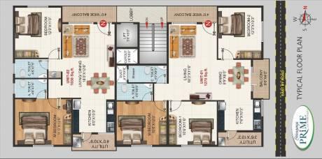 1030 sqft, 2 bhk Apartment in Builder Shivaganga Infra Prime Tyagarajanagar BSK 2nd Stage Thyagraj Nagar, Bangalore at Rs. 80.3300 Lacs