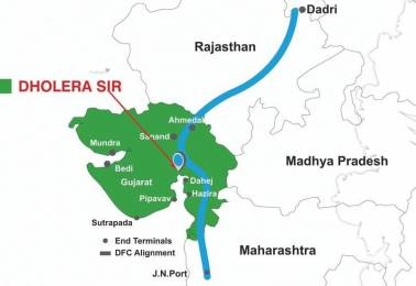 1350 sqft, Plot in Builder Project Dholera, Ahmedabad at Rs. 4.3200 Cr