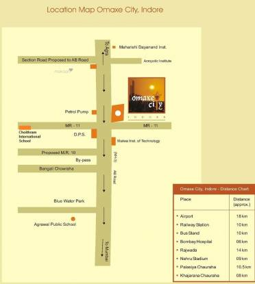 615 sqft, 1 bhk Apartment in Builder Project Manglia, Indore at Rs. 14.0000 Lacs