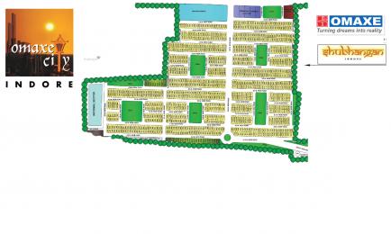 807 sqft, Plot in Omaxe City Plots Maya Khedi, Indore at Rs. 11.3000 Lacs