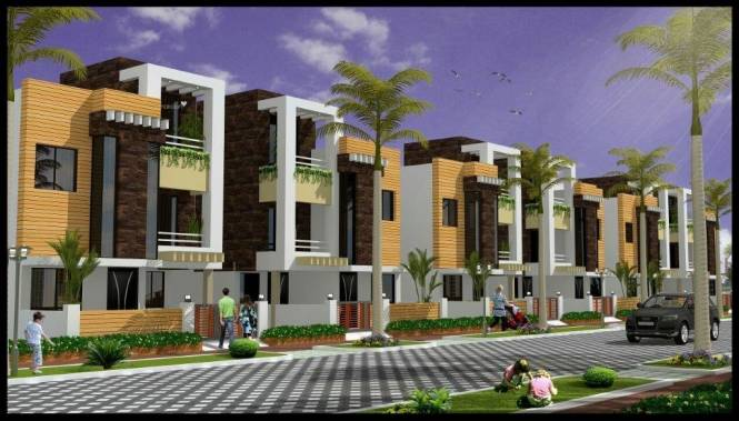 1900 sqft, 3 bhk Villa in Omaxe Hills Machla, Indore at Rs. 51.0000 Lacs