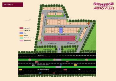 1500 sqft, 3 bhk Villa in Builder siddhhi metro villas Greater Noida West, Greater Noida at Rs. 33.3300 Lacs