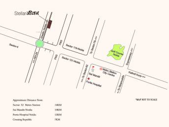 1027 sqft, 2 bhk Apartment in Stellar Jeevan Sector 1 Noida Extension, Greater Noida at Rs. 39.0200 Lacs
