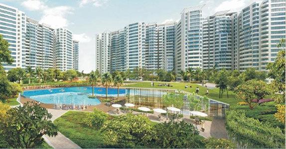 1300 sqft, 3 bhk Apartment in Builder gaur city 14th avenue Noida Extn, Noida at Rs. 43.8700 Lacs