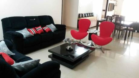 2560 sqft, 3 bhk Apartment in Ramky Towers Gachibowli, Hyderabad at Rs. 65000