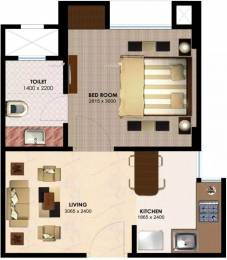 425 sqft, 1 bhk Apartment in Imperia H2O Knowledge Park V, Greater Noida at Rs. 16.0000 Lacs