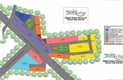 972 sqft, Plot in Builder Project Sector 36, Karnal at Rs. 16.7400 Lacs