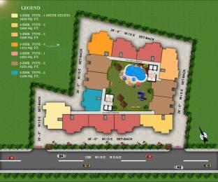1475 sqft, 3 bhk Apartment in Builder Resizone Paradise Greens Sewla Kalan, Dehradun at Rs. 50.8875 Lacs