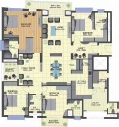 3350 sqft, 4 bhk Apartment in TGB Meghdutam Sector 50, Noida at Rs. 3.5000 Cr