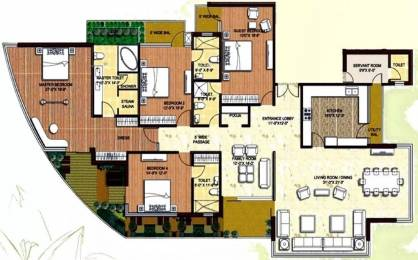 3515 sqft, 4 bhk Apartment in Logix Blossom Greens Sector 143, Noida at Rs. 1.9000 Cr