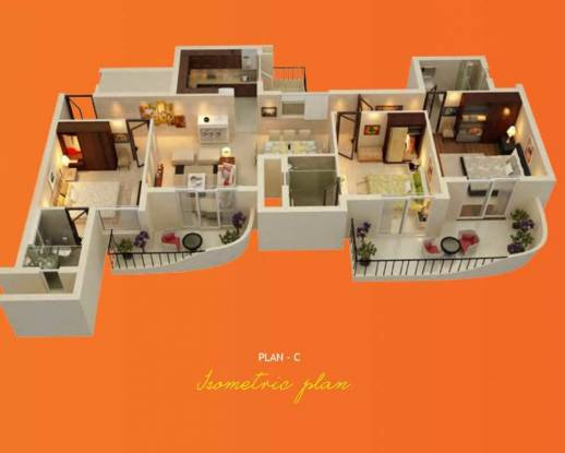 1550 sqft, 3 bhk Apartment in ATS Grandstand Sector 99A, Gurgaon at Rs. 69.7500 Lacs