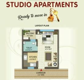 250 sqft, 1 bhk Apartment in Jaipuria Sunrise Greens VIP Rd, Zirakpur at Rs. 14.0000 Lacs
