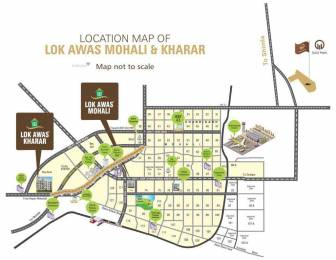 800 sqft, 2 bhk Apartment in Builder Lok Awas Sector 74 A, Mohali at Rs. 19.9000 Lacs