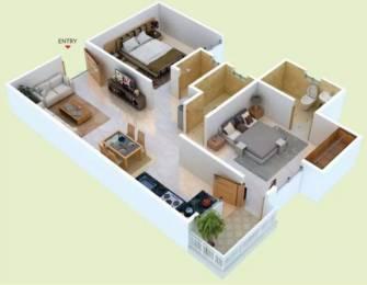 800 sqft, 2 bhk Apartment in Unnati Jagat Hills Jagatpura, Jaipur at Rs. 25.2500 Lacs