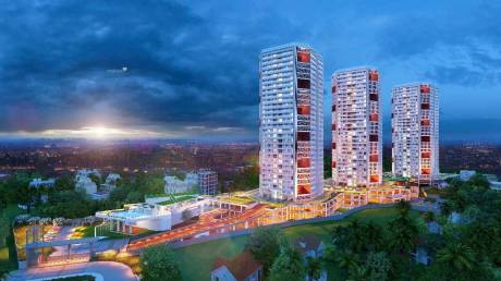 1180 sqft, 2 bhk Apartment in Builder Project Pumpwell, Mangalore at Rs. 67.6200 Lacs